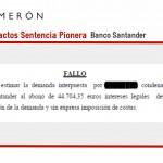 Logramos que el Banco Santander devuelva 44.704,35€ a una empresa compradora de vivienda sobre plano.