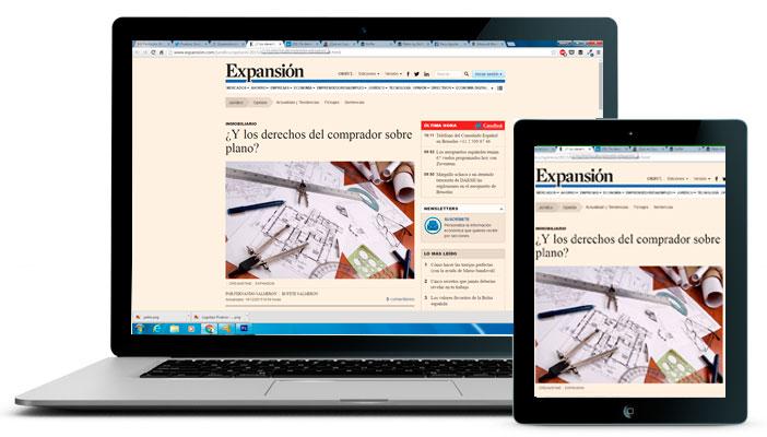 Expansión.com. Sección Jurídica