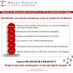 Lanzamos NotariSolutio: un servicio especializado en el recobro para Notarías.