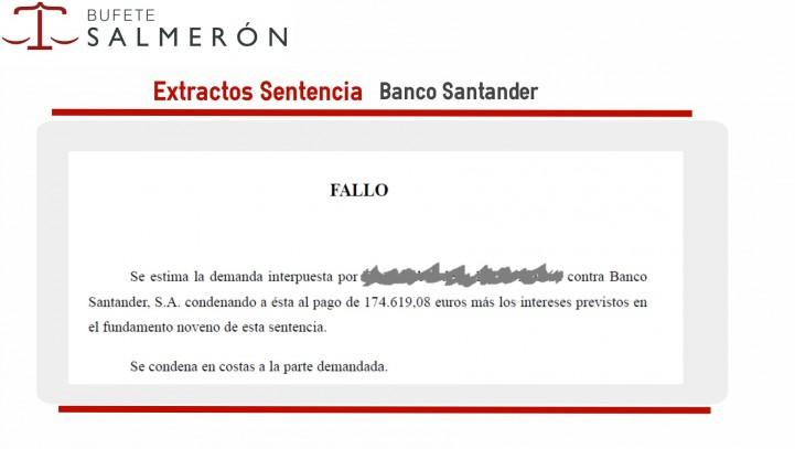 Conseguimos que el Banco Santander devuelva más de 174.619,08€ a otro comprador de vivienda sobre plano
